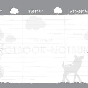 A5 Weekly Planner - Little Bambee s..