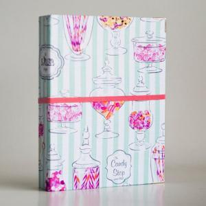 Candy Jar Binder Folder with 2 refi..