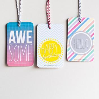 9pcs Sunshine Gift Tags